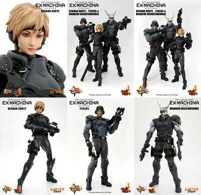 Hot Toys 1 6 Appleseed Saga Ex Machina Deunan Briareos Tereus Set Of 3 Figures Ebay