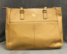 NEW EMMA FOX NAKED PARK AVENUE LARGE LEATHER TOTE LAPTOP BAG