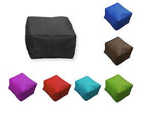 Bean Bag Chair Refill Beads Beanbag-Pouffe-Chair-Footstool-in-outdoor-Garden-Seat-waterproof-45cm ...