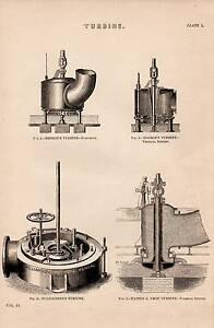 1868-Aufdruck-Turbine-DONKIN-039-S-WILLIAMSON-039-S-Easton-amp-Amos-Turbinen