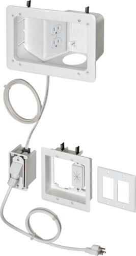 ARLINGTON TVB712BK TV Bridge II Kit w// Angled Power Box