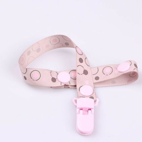 Kids Baby Boy Girl Dummy Pacifier Soother Nipple UK Strap Chain Clip Holder