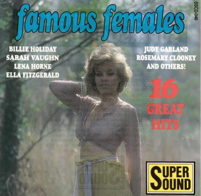 FAMOUS FEMALES 16 Great Hits CD - New