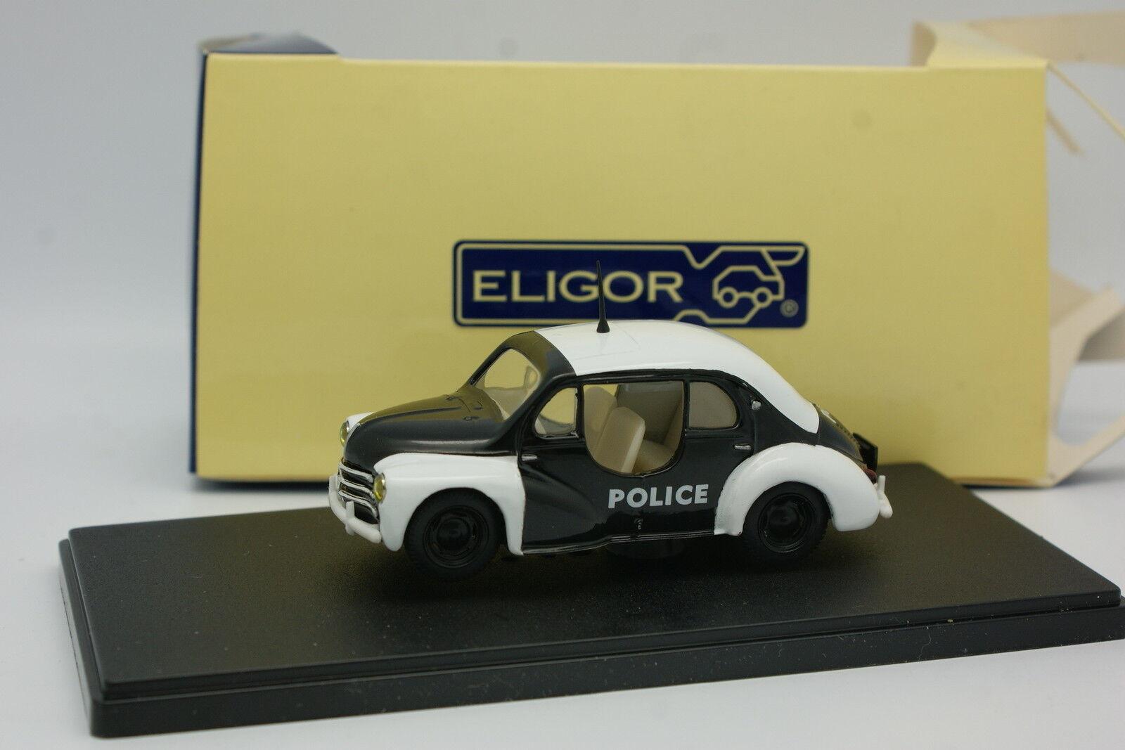 Eligor 1 43 - - - Renault 4CV Police (Policía) 9f34aa