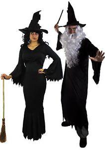 Zauberer Hexen Paar Kostum Fasching Verkleidung Marchen Karneval