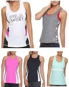 New-FILA-SPORT-Women-039-s-Tank-Top-Tees-Multiple-Styles-Size-XS-to-XL