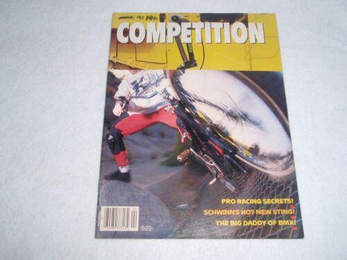 3 NOS ORIGINAL BMX PLUS MAGAZINE APRIL 1991 VOL 14 NO