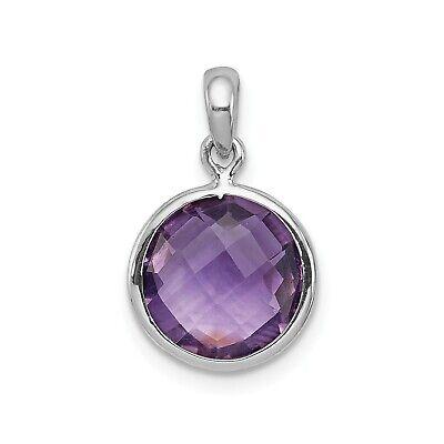 Naturel Ovale Violet Améthyste 925 Pendentif en argent sterling Boucles d/'oreilles Set Handmade