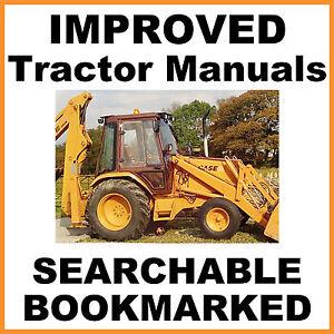 Case 580 D 580D Tractor Loader Backhoe Shop Service Manual Construction King CK