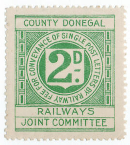 I-B-County-Donegal-Railways-Joint-Committee-Letter-Stamp-2d