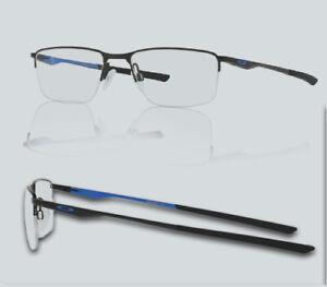 6b6e6cc49ec New Oakley OX 3218 SOCKET 5.5 321804 Satin Black Eyeglasses ...