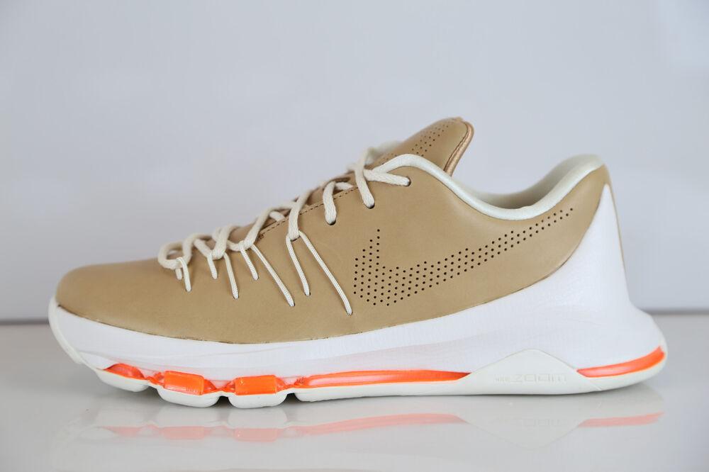 Nike KD 8 EXT Vachetta Tan Orange 806393-200 8-14 8-14 806393-200 1 7 11 air zoom Chaussures de sport pour hommes et femmes 788fc5