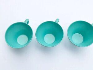 Vintage-Melamine-Aqua-Turquoise-Coffee-Cup-3-MCM