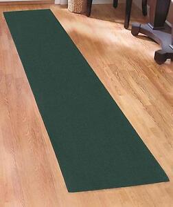 Extra long wide nonslip carpet floor runner rugs 60 hunter green floor runner ebay - Extra long carpet runners ...