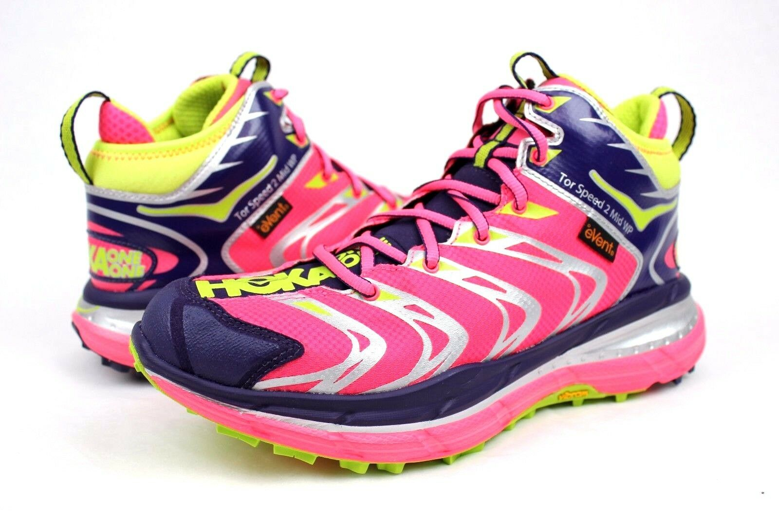 HOKA TOR SPEED 2 MID WP NEON PINK / ASTRAL SIZE AURA TRAIL SCARPE Donna SIZE ASTRAL 7 US f3a9c4