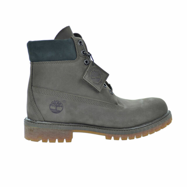 NEW Timberland 6-Inch Field Boot Brown//Green Junior Big Kids Boots 44992