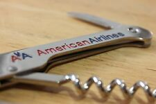 American Airlines Corkscrew Wine Bottle Opener New Authentic Franmara Fast Ship
