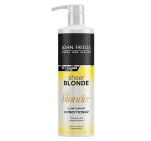 John-Freida-Sheer-Blonde-Go-Blonder-Lightening-Conditioner-500ml-Fast-Dispatch