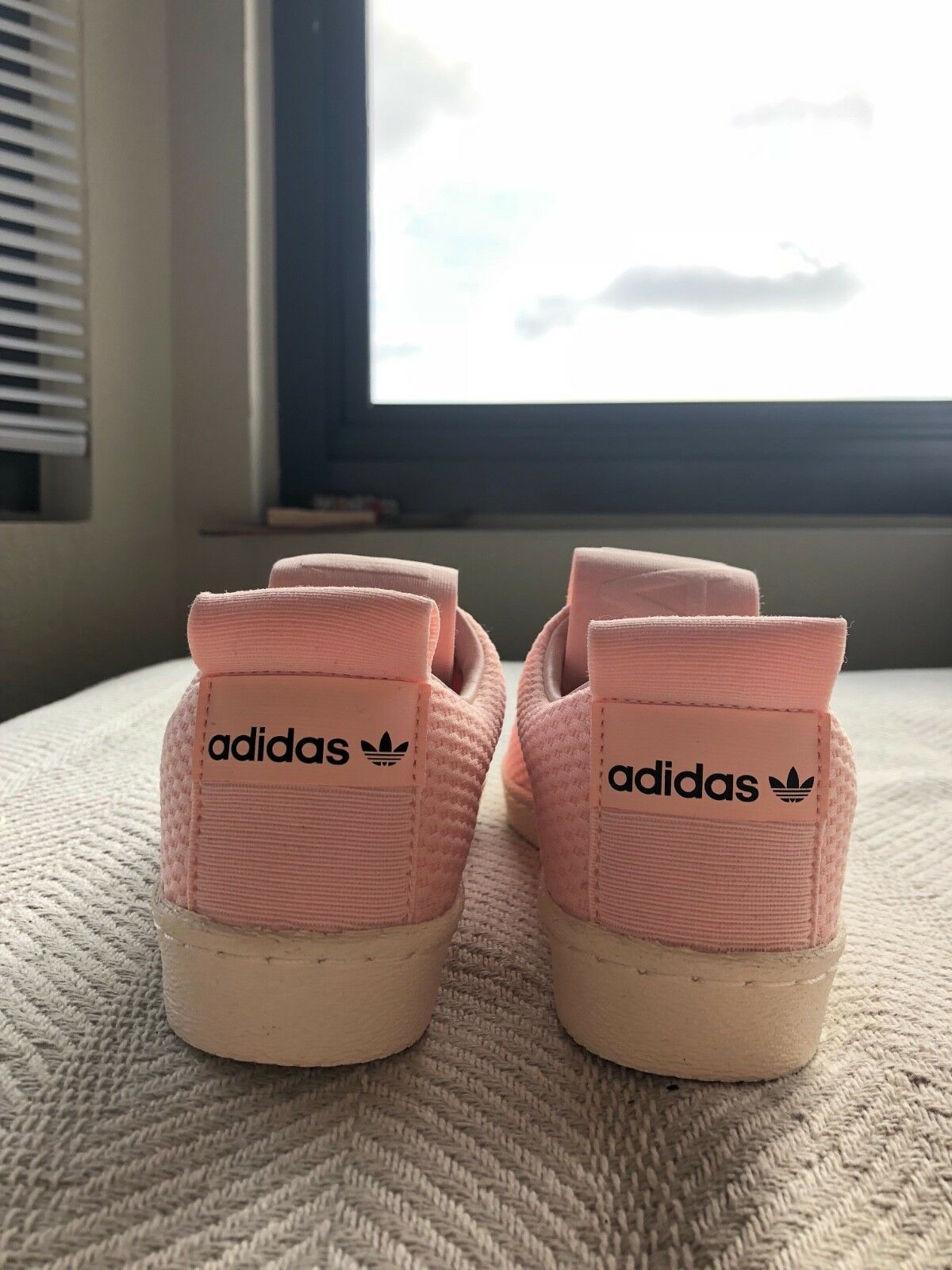 adidas superstar slip-on shoes women's pink Price reduction