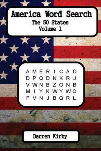 America Word Search: The 50 States | eBay