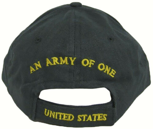 Embroidered with USA Patch US Army Strong Army of One Star Green Hat Cap RUF