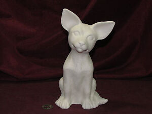 Ceramic Bisque Sitting Chihuahua Dog Ready to Paint Unpainted U-Paint