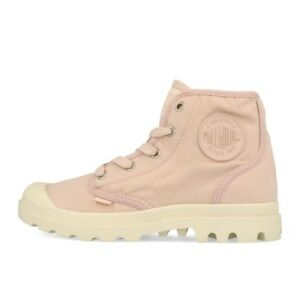 Details zu Palladium Pampa HI Wmns Peach Whip Marshmallow Schuhe Stiefel Boots Rosa