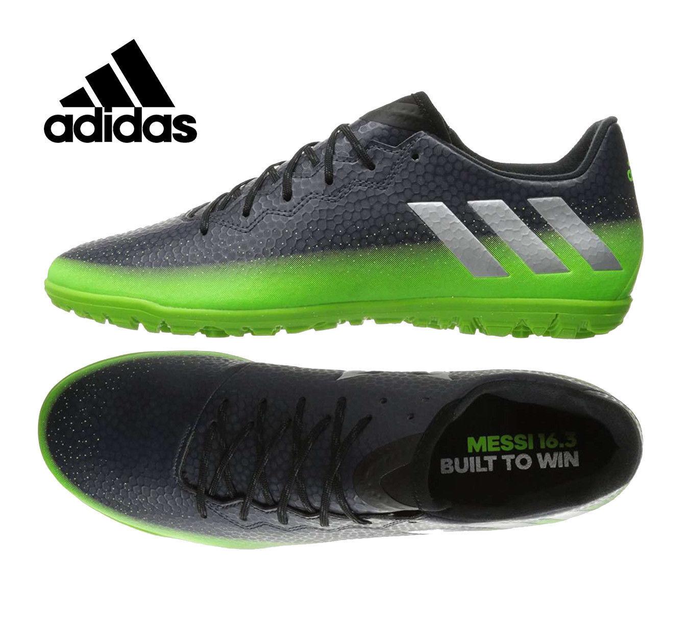 Adidas messi 16,3 16,3 messi Uomo 6,5 per il calcio, football scarpa grigio verde il territorio futsol 6d932b