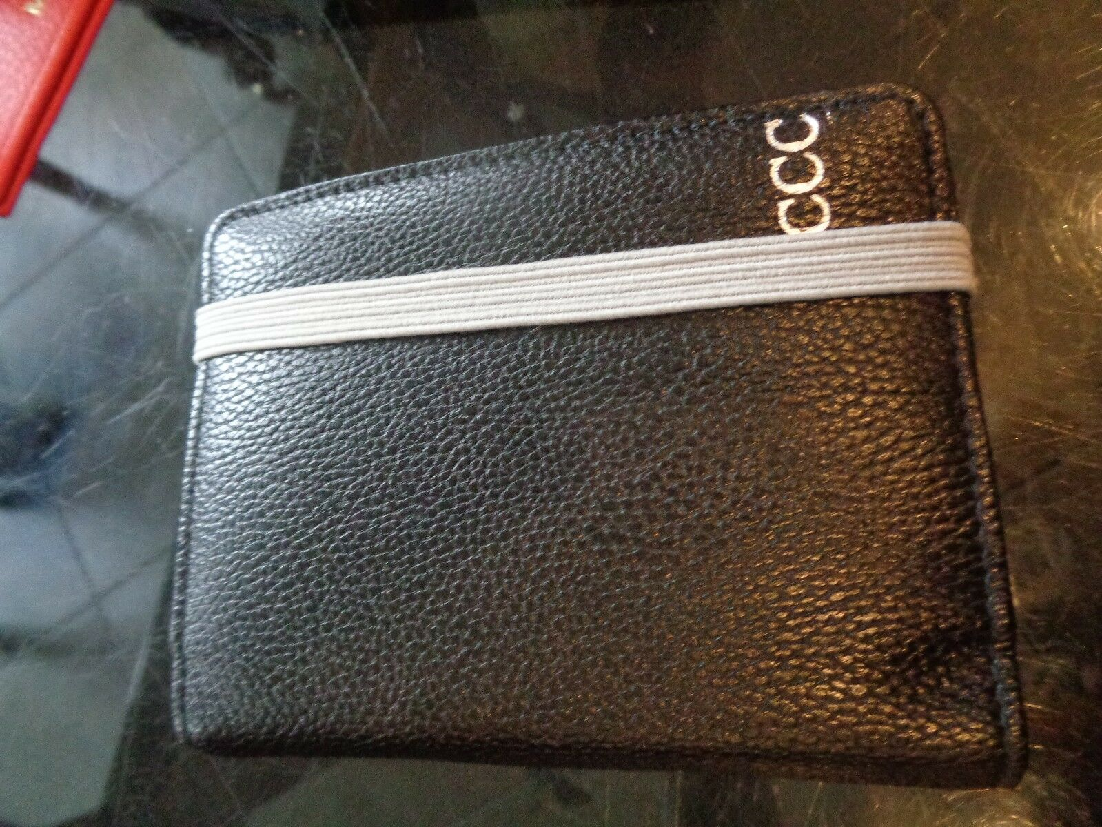 Mark and Graham Loose Ends black organizer mono CCC New wo tag