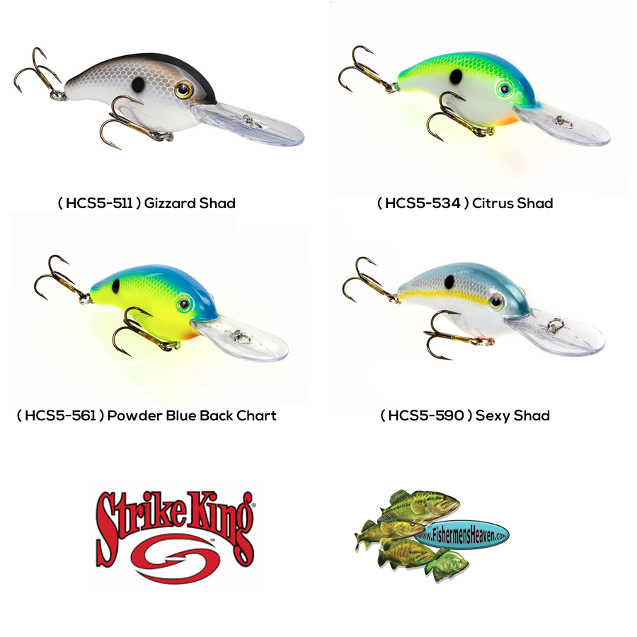 Strike King Crankbaits Pro Model Series 3 SILENT Medium Dive Any Color Lure