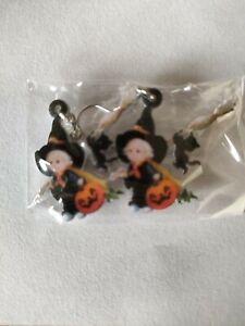Boucles D'oreilles Halloween Sorcière 2