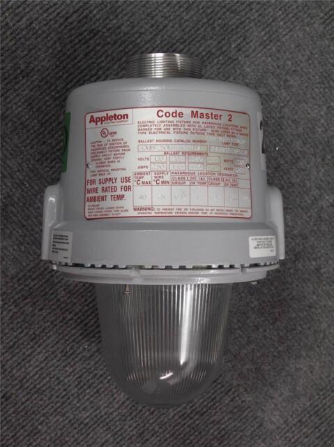 appleton 250 watt hid explosion proof light fixture code master 2