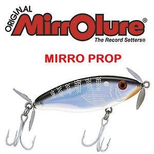 MirroLure-Floating-TwitchBait-Mirro-Prop-3-034-1-2-oz-Choice-of-Colors