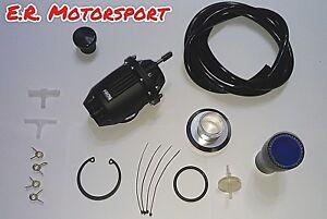 Kit montaggio + Valvola Pop Sequenziale HKS Style modello SQV 4 colore Nero