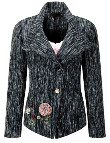 New Women/'s Joe Browns Fabulously Flattering Jacket Blazer Size UK 18 RRP£86