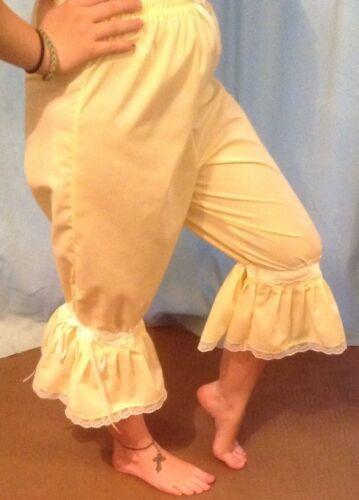 Ladies long legged lemon bloomers