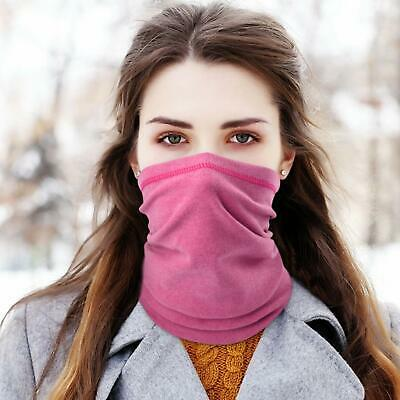 Winter Neck Warmer Gaiter Fleece Windproof Face Cover Scarf for Ski Snowboard