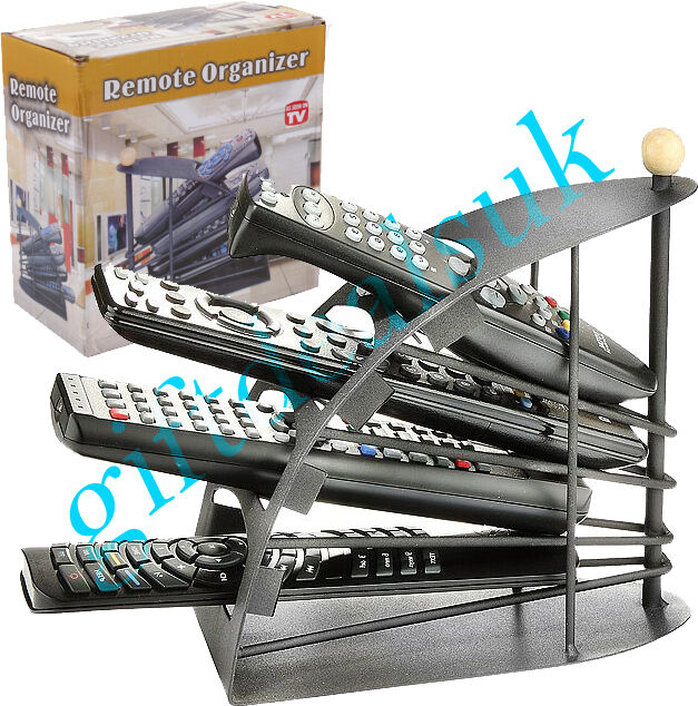 ADVANCE REMOTE CONTROL ORGANISER STAND TIDY CADDY STORAGE HOLDER UP TO 4 REMOTES