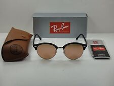 9d940b9160 item 7 RAY-BAN CLUBROUND SUNGLASSES RB4246 1197Z2 BLACK   SILVER COPPER  FLASH LENS 51MM -RAY-BAN CLUBROUND SUNGLASSES RB4246 1197Z2 BLACK   SILVER  COPPER ...