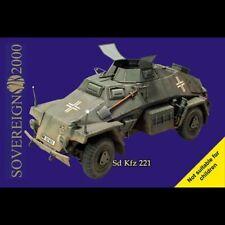 L38 Sovereign SD KFZ 247 Armoured Command Car 1/35 Resin