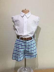 Spanish Boys Clothes Boys Traditional Spanish Shorts And Shirt Set