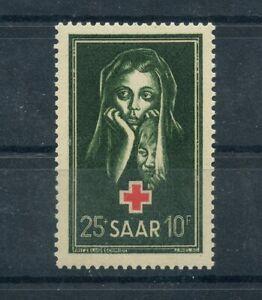 Germany-Saar-Saarland-vintage-yearset-1951-Mi-304-Mint-MNH