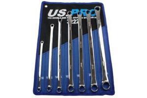 Us-Pro-7-Pieces-Aviation-Bague-Double-Embout-Extra-Long-Jeu-de-Cle-8-24mm-B3222