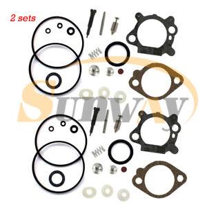 2x Rechange Kit Carburateur pour Briggs & Stratton 492495 490937 498260 3.5 4 HP