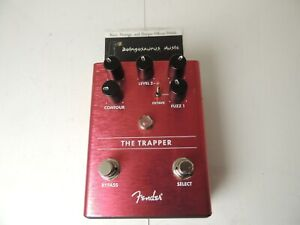 Fender The Trapper Dual Octave Fuzz Effects Pedal Free USA Shipping