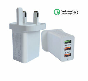 official photos ab674 ce175 Details about Quick Charge USB 30W Wall Charger Power Adapter For iPhone  8/X Huawei P9/P10
