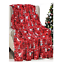 Christmas-Throw-Blanket-Holiday-Theme-50-034-x-60-034-Cozy-Soft-Warm-Durable-Blanket thumbnail 14