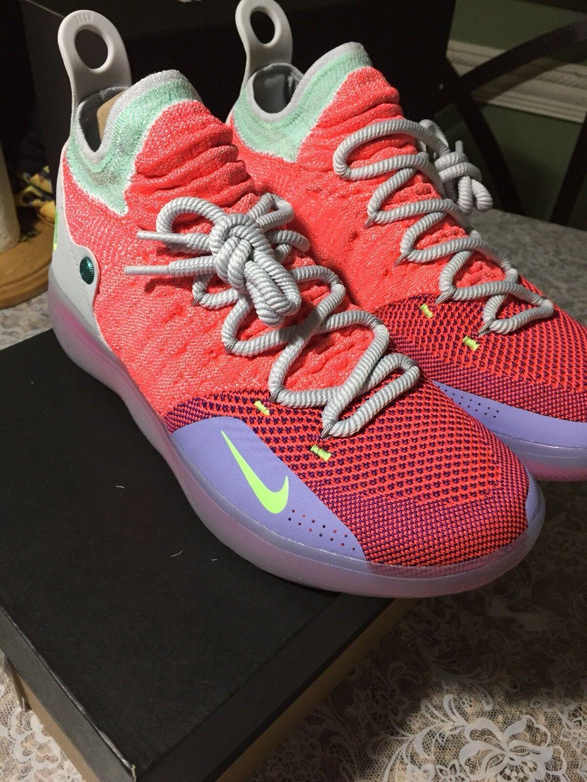 Nike kd 11 eybl peach jam us9 molto limitata mvp kevin durant x - ix - viii