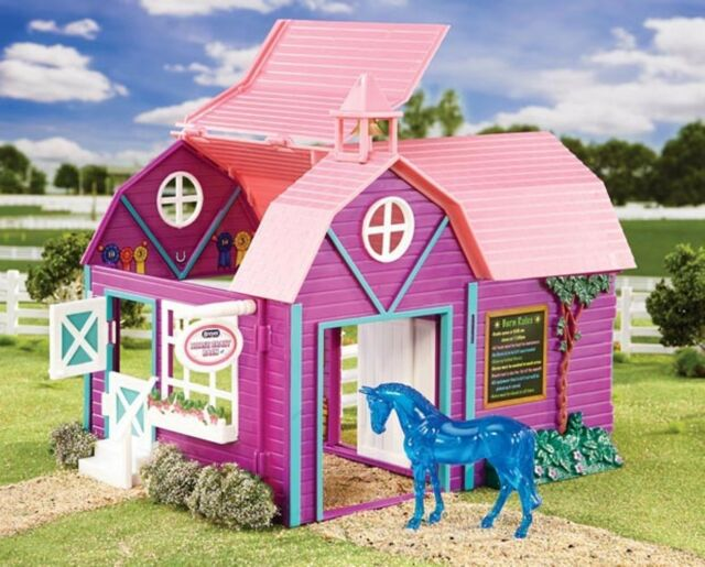 BREYER Stablemates Horse Crazy Barn Blue Horse 1:32 Scale 59208