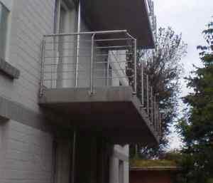 Bevorzugt Edelstahl Balkon Brüstung Terassen Geländer 12 Meter   eBay PD74